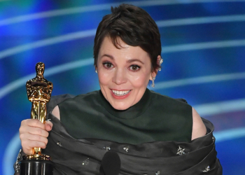 Mandatory Credit: Photo by Rob Latour/REX/Shutterstock (10112915in) Olivia Colman - Actress in a Leading Role - ÔThe FavouriteÕ 91st Annual Academy Awards, Show, Los Angeles, USA - 24 Feb 2019
