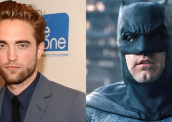 Ben Affleck Robert Pattinson Batman