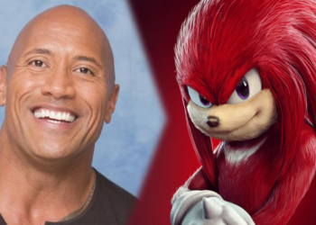 Dwayne Johnson Knuckles Sonic